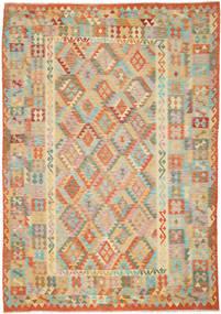 Kilim Afghan Old style rug ABCO702