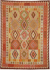 Kilim Afghan Old style carpet ABCO375