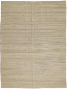 Kilim Modern Rug 204X280 Authentic Modern Handwoven Light Grey (Wool, Afghanistan)