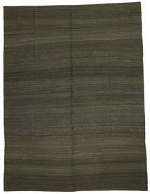 Kilim Modern Szőnyeg 216X284 Modern Kézi Szövésű Sötétbarna (Gyapjú, Afganisztán)
