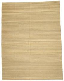 Kelim Modern Teppich  212X280 Echter Moderner Handgewebter Hellbraun/Gelb (Wolle, Afghanistan)