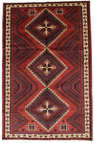 Lori Teppe 165X260 Ekte Orientalsk Håndknyttet Mørk Rød/Rust (Ull, Persia/Iran)