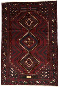 Lori Rug 175X258 Authentic  Oriental Handknotted Dark Brown/Dark Red (Wool, Persia/Iran)