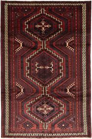 Lori Matto 170X262 Itämainen Käsinsolmittu Musta/Tummanpunainen (Villa, Persia/Iran)