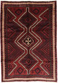 Lori Matta 172X245 Äkta Orientalisk Handknuten Mörkröd/Svart (Ull, Persien/Iran)