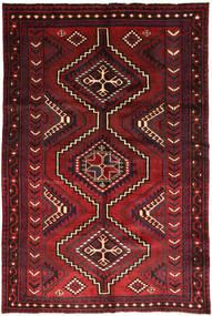 Lori Alfombra 161X245 Oriental Hecha A Mano Rojo Oscuro/Negro (Lana, Persia/Irán)