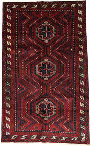 Lori Dywan 156X257 Orientalny Tkany Ręcznie Ciemnoczerwony (Wełna, Persja/Iran)