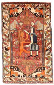 カシュガイ 絨毯 103X169 オリエンタル 手織り ベージュ/オレンジ (ウール, ペルシャ/イラン)