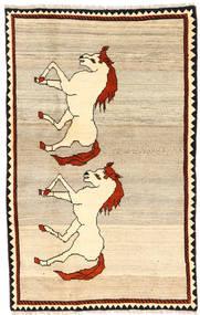Ghashghai Teppe 110X180 Ekte Orientalsk Håndknyttet Beige/Lysbrun (Ull, Persia/Iran)