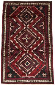 Lori Matto 163X258 Itämainen Käsinsolmittu Tummanpunainen/Musta (Villa, Persia/Iran)