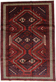 Lori Matto 175X263 Itämainen Käsinsolmittu Tummanpunainen/Musta (Villa, Persia/Iran)