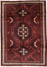 Lori Rug 178X255 Authentic  Oriental Handknotted Dark Red/Black (Wool, Persia/Iran)