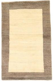 Gabbeh Persisk Matta 96X155 Äkta Modern Handknuten Beige/Ljusbrun (Ull, Persien/Iran)