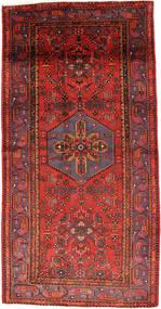 Zanjan Matto 135X268 Itämainen Käsinsolmittu Tummanpunainen/Ruoste (Villa, Persia/Iran)