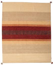 Loribaf Loom Rug 173X241 Authentic  Modern Handknotted Dark Beige/Dark Red (Wool, India)