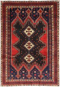 Afshar Rug 175X255 Authentic  Oriental Handknotted Dark Green/Dark Red (Wool, Persia/Iran)
