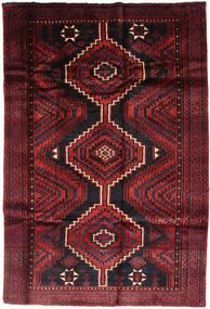 Lori Tæppe 172X255 Ægte Orientalsk Håndknyttet Mørkegrøn/Mørkerød/Rust (Uld, Persien/Iran)