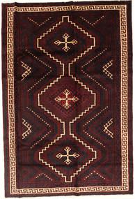 Lori Vloerkleed 171X255 Echt Oosters Handgeknoopt Donkerbruin/Donkerrood (Wol, Perzië/Iran)