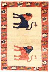 Gashgai Alfombra 137X200 Oriental Hecha A Mano Amarillo/Naranja (Lana, Persia/Irán)
