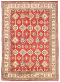 Kazak Teppich 332X463 Echter Orientalischer Handgeknüpfter Orange/Hellbraun Großer (Wolle, Pakistan)