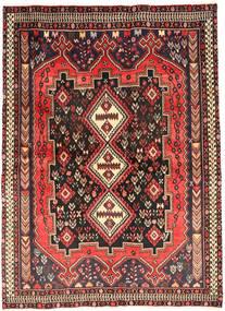Afshar Matta 171X233 Äkta Orientalisk Handknuten Mörkbrun/Brun (Ull, Persien/Iran)