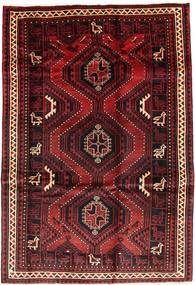 Lori Matto 176X257 Itämainen Käsinsolmittu Tummanpunainen/Musta (Villa, Persia/Iran)