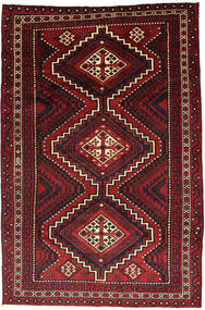 Lori Rug 178X268 Authentic  Oriental Handknotted Dark Red/Black (Wool, Persia/Iran)