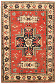 Kazak Tapis 183X279 D'orient Fait Main Marron/Orange (Laine, Pakistan)