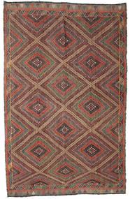 Kilim semi antique Turkish carpet XCGZF913