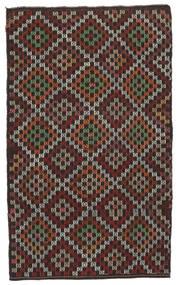 Kelim Semi-Antiek Turkije Vloerkleed 175X286 Echt Oosters Handgeweven Donkerrood/Bruin (Wol, Turkije)