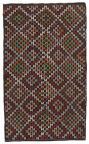 Kelim Halvt Antikke Tyrkiske Teppe 175X286 Ekte Orientalsk Håndvevd Mørk Rød/Brun (Ull, Tyrkia)