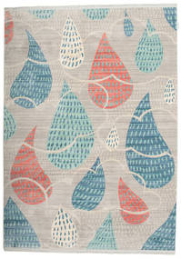 Happy Rain - Grey Rug 160X230 Modern Light Grey/Light Blue ( Turkey)