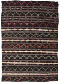 Kilim semi antique Turkish carpet XCGZF1366