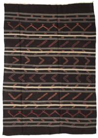Kilim semi antique Turkish carpet XCGZF1364
