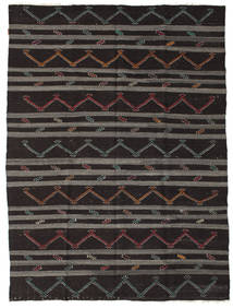 Kilim semi antique Turkish rug XCGZF1361