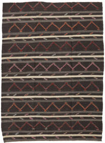 Kilim Semiantigua Turquía Alfombra 232X337 Oriental Tejida A Mano Marrón Oscuro (Lana, Turquía)