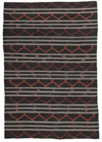 Κιλίμ Ημιπολύτιμα Λόγω Παλαιότητας Τουρκία Χαλι 227X337 Ανατολής Χειροποίητη Ύφανση Σκούρο Καφέ/Σκούρο Γκρι (Μαλλί, Τουρκικά)