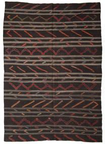 Kilim semi antique Turkish carpet XCGZF1328