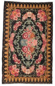 Rozenkelim Moldavia Vloerkleed 182X302 Echt Oosters Handgeweven Zwart/Donkergrijs (Wol, Moldavië)