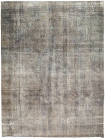 Colored Vintage Rug 290X384 Authentic  Modern Handknotted Light Grey/Dark Grey Large (Wool, Persia/Iran)