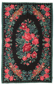 Rose Kelim Moldavia Rug 176X273 Authentic  Oriental Handwoven Dark Grey/Dark Green (Wool, Moldova)