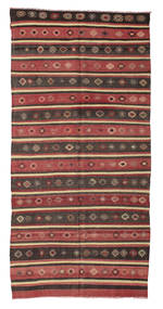 Kilim semi antique Turkish carpet XCGZF1012