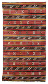 Kilim Semi Antique Turkish Rug 176X315 Authentic Oriental Handwoven Light Brown/Rust Red (Wool, Turkey)