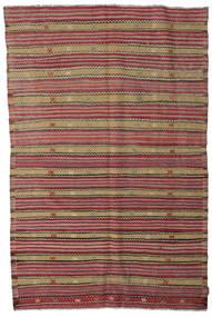 Kelim Halvt Antikke Tyrkiske Teppe 173X263 Ekte Orientalsk Håndvevd Lysbrun/Rød (Ull, Tyrkia)