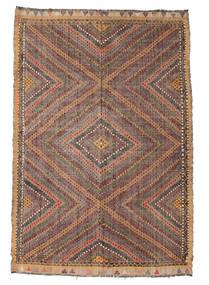 Kilim semi antique Turkish carpet XCGZF993