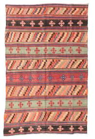 Kilim semi antique Turkish carpet XCGZF985