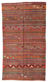 Kilim semi antique Turkish carpet XCGZF983