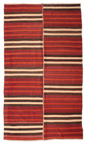 Kilim Semi Antique Turkish Rug 176X304 Authentic  Oriental Handwoven Dark Red/Crimson Red/Rust Red (Wool, Turkey)