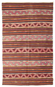 Kilim semi antique Turkish carpet XCGZF935
