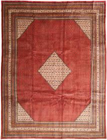 Mahal Matto 293X390 Itämainen Käsinsolmittu Tummanpunainen/Ruoste Isot (Villa, Persia/Iran)